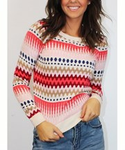 Living Doll - My Girl Jumper - Multi