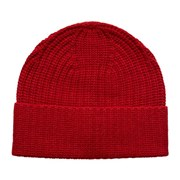 ETON - Red Ribbed Wool & Cashmere Blend Beanie A0003216958 3624578