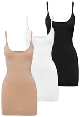 B Free Intimate Apparel Curvy Sleek Body Slip Pack