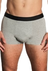 B Free Intimate Apparel Grey Marle Boxer Trunks