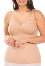 B Free Intimate Apparel Ultra Light Shaping V-Tank