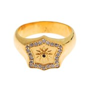 Nialaya Jewelry Gold Plated 925 Sterling Silver Ring 5591007953045