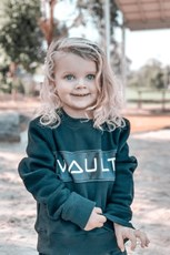 Vault Active Kids Oversized Crew Neck (Unisex)