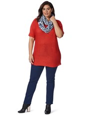 Beme Regular Length Slim Leg Jeans deep blue