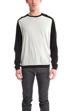 Blue & Cream Blue&Cream Cashmere Raglan Sweater Black/Quicksilver