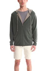 Blue & Cream Blue&Cream Cashmere Zip Hoody Army/Khaki