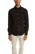 Jachs Ny JACHS Alfonso Button Down Shirt Jet Black