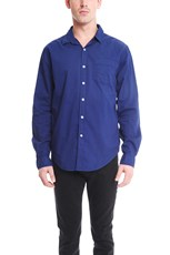 Jachs Ny JACHS Paris Poplin Shirt Royal Blue