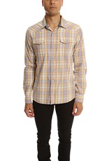 Jachs Ny JACHS Plaid Shirt Yellow/Blue/Red Plaid