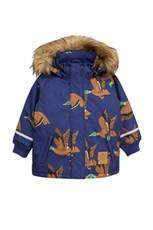 Mini Rodini K2 Wild Duck Parka Navy