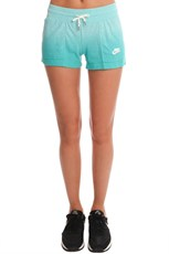 Nike Vintage Dip Dye Shorts Light Aqua