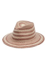 Rag & Bone Panama Hat Red Multi