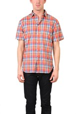 Shipley & Halmos Flynn Button Down Shelby Plaid