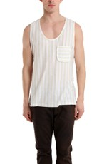 Shipley & Halmos Striped Tank Top