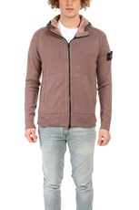 Stone Island Hooded Cardigan Pink Quartz