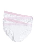 Bonds Girls Bikini 4 Pack White