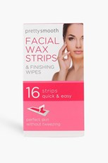 Boohoo 16 Facial Wax Strips With Wipes DZZ66680