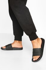 Boohoo Embossed Woman Sliders FZZ72484