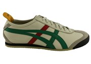 Onitsuka Tiger Asics Onitsuka Tiger Mexico 66 Mens Leather Lace Up Casual Shoes