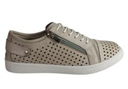Cabello Comfort EG17 Womens Leather European Cushioned Casual Shoes