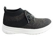 Fitflop Womens Comfortable Uberknit Slip On High Top Sneakers
