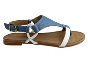 Cc Resorts Le Sansa By CC Resorts Laura Womens Comfortable Flat Leather Sandals