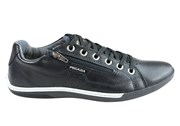 Pegada Randy Mens Leather Lace Up Comfort Casual Shoes Made In Brazil