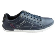 Pegada Ross Mens Leather Lace Up Comfort Casual Shoes Made In Brazil