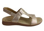 Scholl Orthaheel Fara Womens Comfortable Supportive Leather Sandals