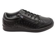Scholl Orthaheel Razer Womens Supportive Leather Lace Up Casual Shoes