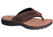 Slatters Kyte Mens Comfortable Leather Thongs Flip Flops