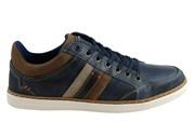 Wild Rhino Blake Mens Leather Lace Up Casual Shoes Made In Portugal