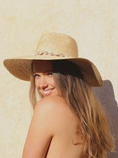 Call Me The Breeze Talara Shell Panama Hat