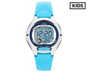 Casio Kids' 37.9mm LW200-2B Digital Watch - Light Blue/Grey