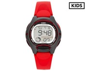 Casio Kids' 37.9mm LW200-4A Digital Watch - Red/Black