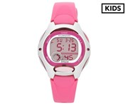 Casio Kids' 37.9mm LW200-4B Digital Watch - Pink/Grey