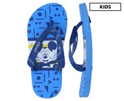 Mickey Mouse Boys' Print Thongs - Blue