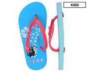 Minnie Mouse Girls' Bow Thongs - Blue