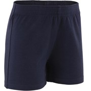 Domyos 100 Baby Gym Shorts Navy Blue