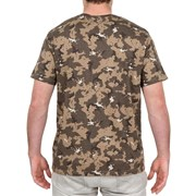 Solognac 100 Men's Short-Sleeve Hunting T-Shirt Grey Blue