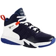 Tarmak SS 500H Kids Intermediate Basketball Shoes Navy Blue