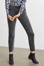 Emerge Cropped Straight Jeans 248155
