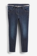 Next Express Next Sparkle Skinny Jeans With Belt (3-16yrs) 247792