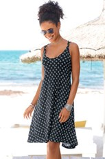 Urban Cross Strap Beach Dress 234223