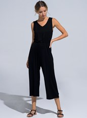 Buddha Wear Annie Jumpsuit BLACK