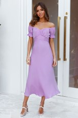Hello Molly Sky Child Maxi Dress Lilac