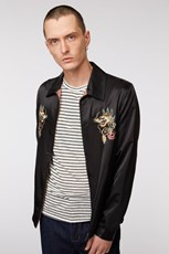 Jack London Dragon Sateen Bomber