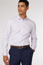 Jack London Lilac Formal Shirt