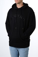 A Brand A Dropped Hoody Black