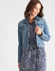 Katies Denim Jacket MID DENIM
